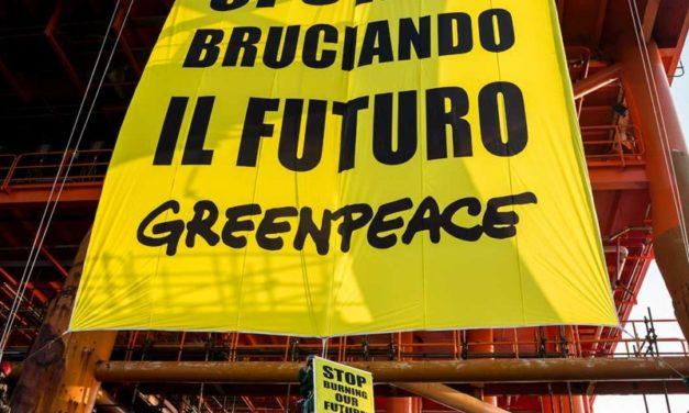 Greenpeace chiede una firma per costringere ENI a optare per il green