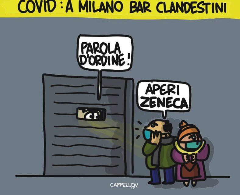Milano e l'arancione rinforzato: bar clandestini e parole d'ordine…
