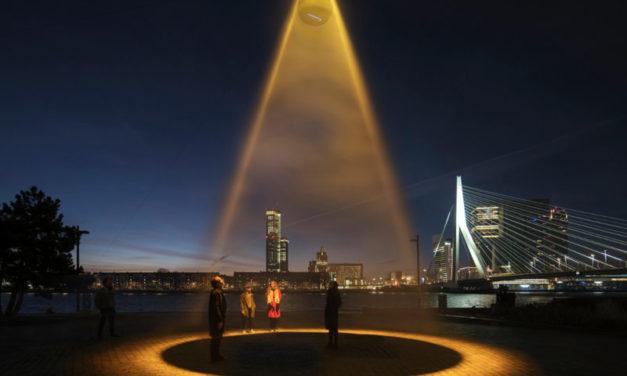 Un sole urbano contro il coronavirus: il Roosegaarde Studio presenta Urban Sun