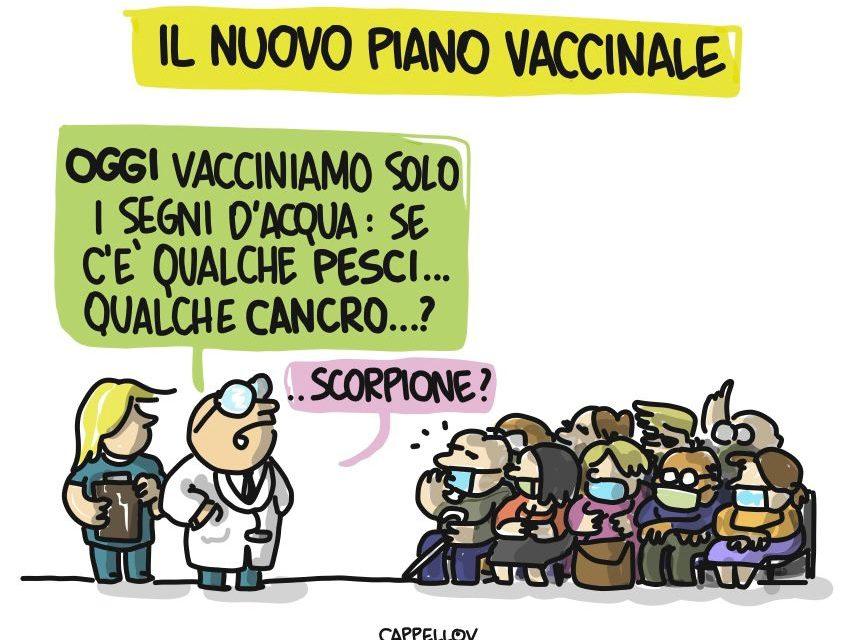 Il nuovo piano vaccinale…