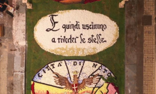 L'Infiorata di Noto: cultura e tradizione in ricordo di Dante Alighieri