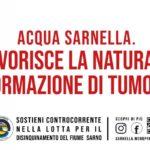 Nasce l'acqua Sarnella: la provocatoria campagna di comunicazione sul fiume Sarno inquinato