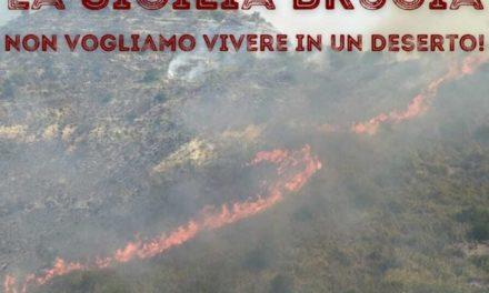 La Sicilia brucia ancora. Iniziativa social per dire basta ai roghi dolosi e chiedere una risposta concreta