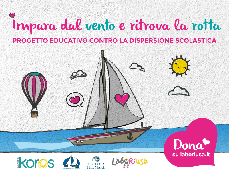 Imparare dal vento: campagna di crowdfunding contro la dispersione scolastica