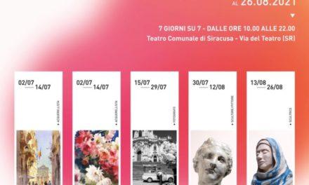 """Arte in Teatro"", inaugurata rassegna di mostre al Teatro Comunale di Siracusa"