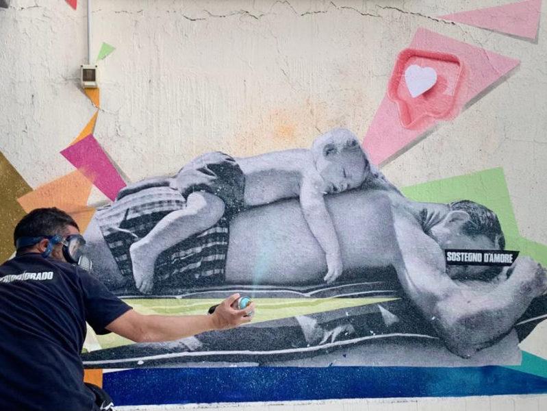 Intervista a Demetrio Di Grado sullo Street Collage Tour